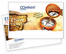 Careers/Industry: South Atlantics Postcard Template #08151