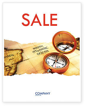 South Atlantics Sale Poster Template, 08151, Careers/Industry — PoweredTemplate.com