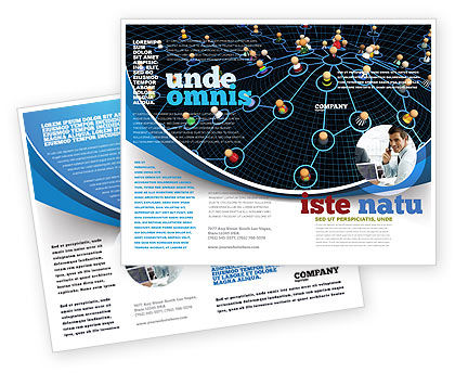 Network Community Brochure Template