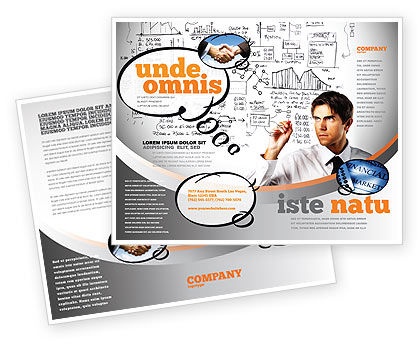 Consulting: Business Success Planning Brochure Template #08235