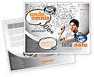 Consulting: Modèle de Brochure de planification de la réussite des entreprises #08235