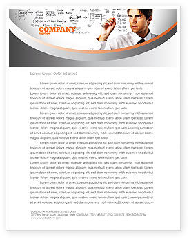 Consulting: Business Success Planning Letterhead Template #08235