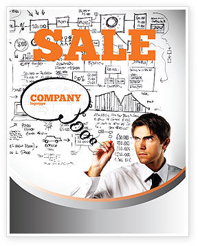 Business Success Planning Sale Poster Template, 08235, Consulting — PoweredTemplate.com