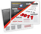 Consulting: Upcoming Decade Brochure Template #08273
