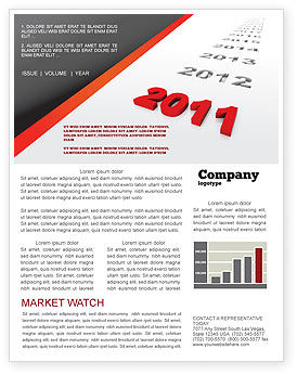 Consulting: Upcoming Decade Newsletter Template #08273