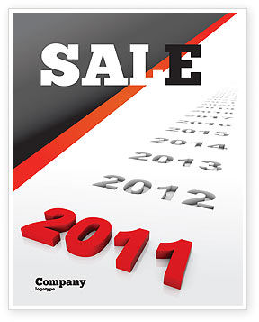 Upcoming Decade Sale Poster Template, 08273, Consulting — PoweredTemplate.com