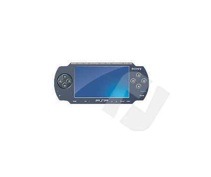 PSP Vector Clip Art, 00005, Consumer Electronics — PoweredTemplate.com