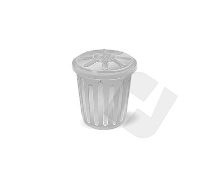 Trash Can Vector Clip Art