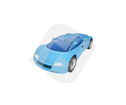 Industry Essentials: Sport Car Vector Clip Art #00021