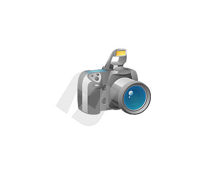 Photo Camera Vector Clip Art, 00025, Objects and Equipment — PoweredTemplate.com