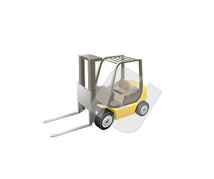 Industry Essentials: Loader Vector Clip Art #00081