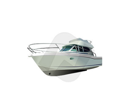 Motor Yacht Vector Clip Art, 00082, Industry Essentials — PoweredTemplate.com