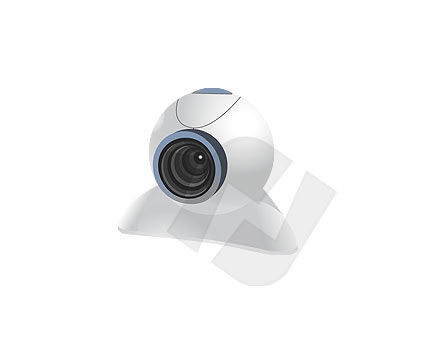 Consumer Electronics: Web Camera Clipart #00089
