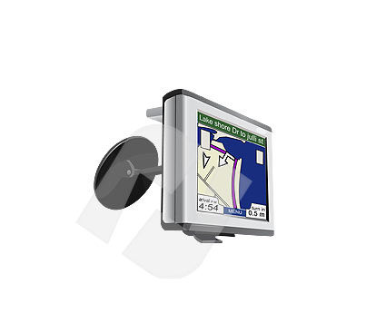 Objects and Equipment: Gps navigator Clip Art #00096