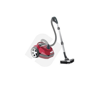 Hoover Craft Vector Clip Art, 00135, Home Appliances — PoweredTemplate.com