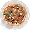 Food & Beverage: Assorted Meat Vector Clip Art #00192