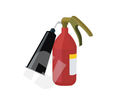 Industry Essentials: Fire Extinguisher #00201