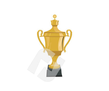 Sports: Cup Vector Clip Art #00225