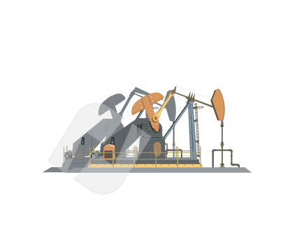Industry Essentials: Oil Pump Vector Clip Art #00257
