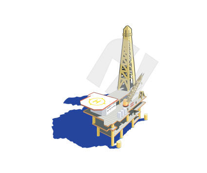 Industry Essentials: Oil Platform #00267
