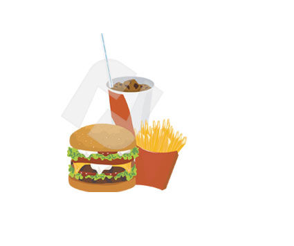 Food & Beverage: Fast food Clip Art #00308