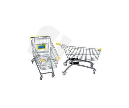 Objects and Equipment: Cart Vector Clip Art #00314