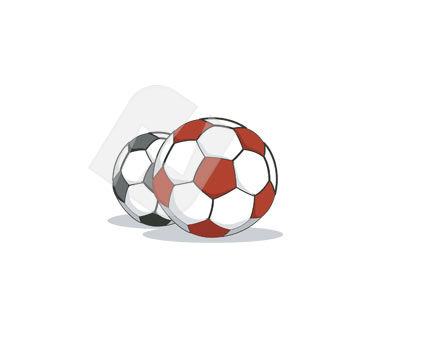 Sports: Soccer Ball Vector Clip Art #00315