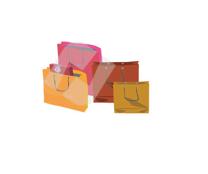Paper Bag Vector Clip Art