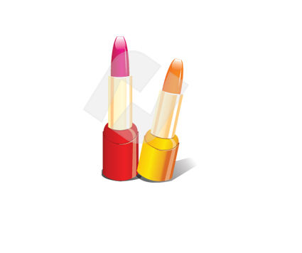 Industry Essentials: Lipstick Vector Clip Art #00334