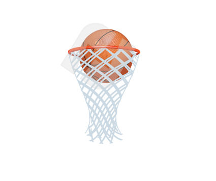 Sports: Basketball Vector Clip Art #00338