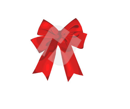 Holiday/Special Occasion: Bow Vector Clip Art #00367