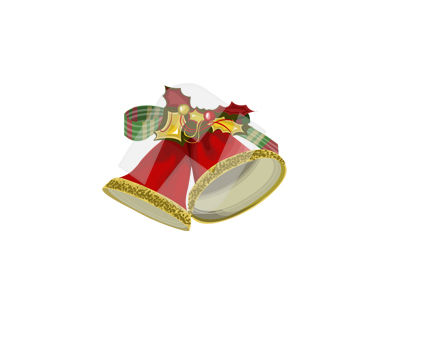 Holiday/Special Occasion: Bells Vector Clip Art #00370