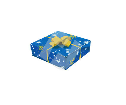 Holiday/Special Occasion: Gift Box Vector Clip Art #00374