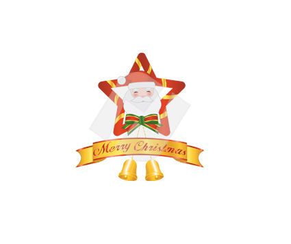 Holiday/Special Occasion: Merry Christmas Decoration  Vector Clip Art #00379