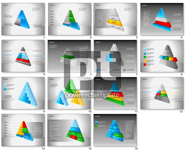 3D Triangle Shapes