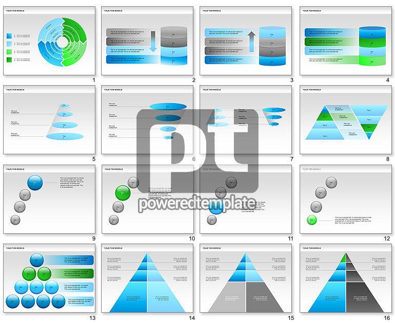 Four Tier Model Diagrams