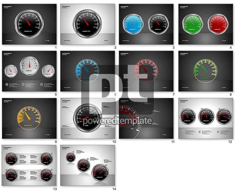 Speedometer Shapes