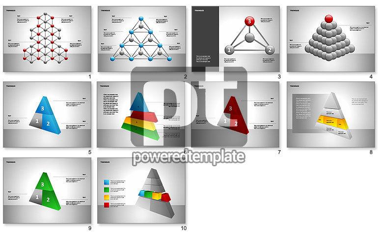 Sectored piramides vormen