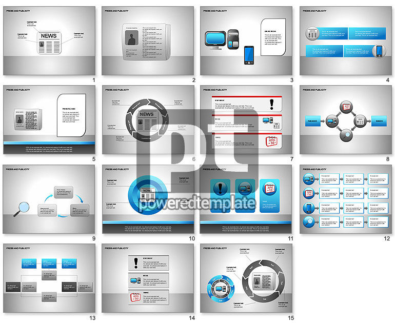 Press & Publicity Diagrams