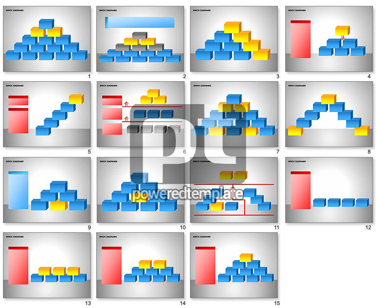 Brick Diagrams Collection