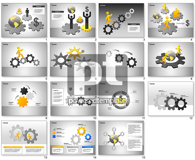 Free Process Gears Diagrams