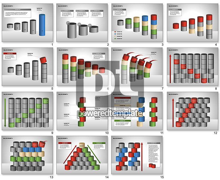 Sales Growth Diagrams