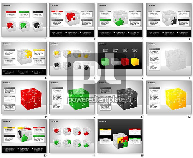 Puzzle Cube Diagrams