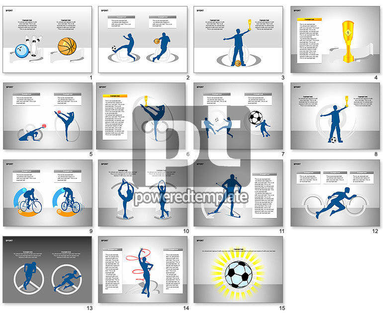 Free Sports Shapes Collection