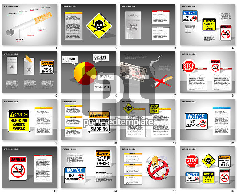 Free Stop Smoking Signs