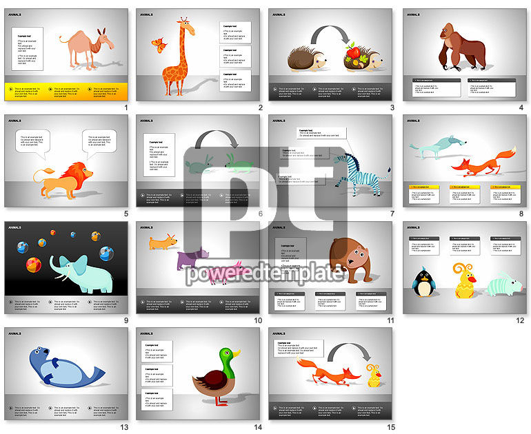 Animals Diagrams