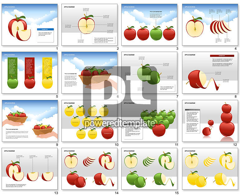 Apple Diagrams Collection