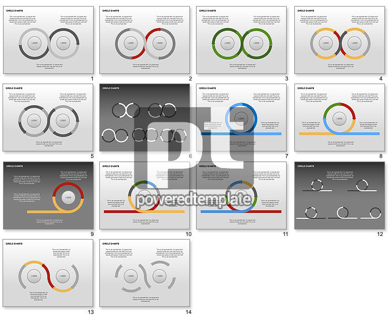 Circle Process Charts Collection