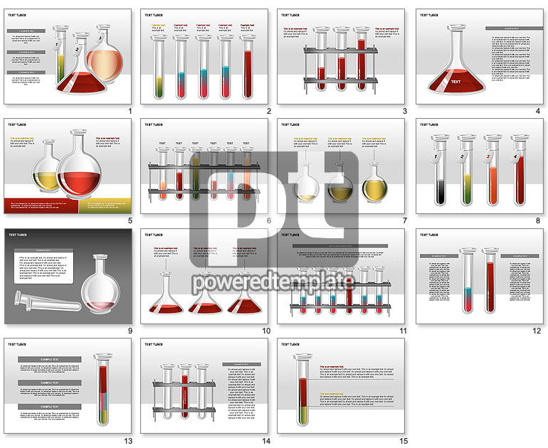 Test Tubes Stage Diagrams
