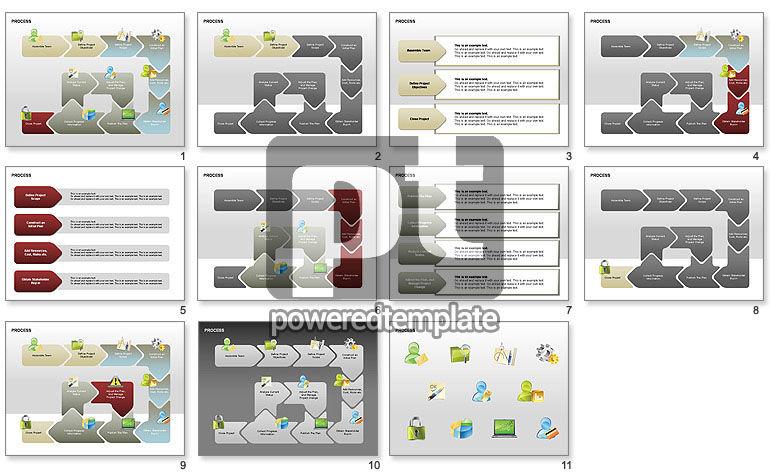 Successive Steps Process Diagrams
